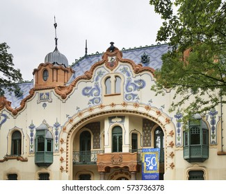 SUBOTICA. SERBIA. 14 MAY 2012 : Raichle House in Subotica. Serbia