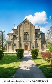 Subotica, Serbia - April 23, 2017: The Church of the Resurrection of Jesus is the Catholic Church in Subotica