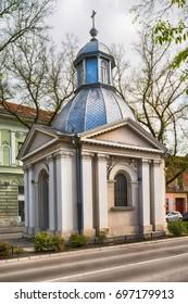 Subotica, Serbia - April 23, 2017: Chapel of St. Roka in Subotica town, Serbia