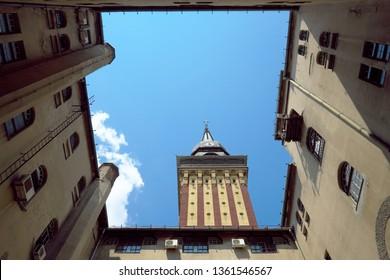 Subotica tower City Hall, Serbia
