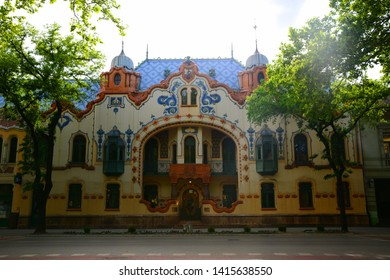 SUBOTICA / VOJVODINA, SERBIA 12.MAY,2019 -View of city Subotica,Serbia.Subotica is second town in the region of Vojvodina