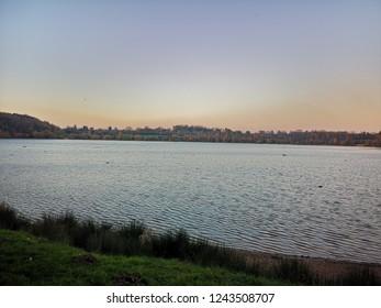 subset at a lake in Congleton UK
