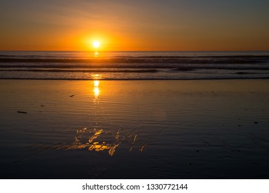 Subset on pacific ocean