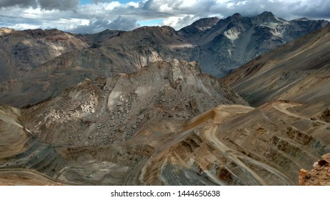 Subsidence, Open pit mines, Chile