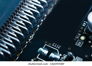 Substrate and many electronic components