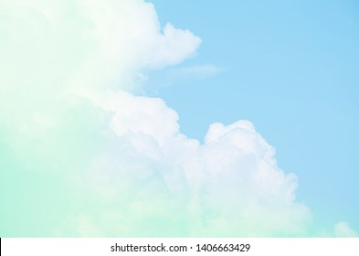 Subtle cloudy background with beautiful pastel color gradients