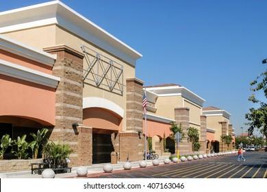 Suburban beautiful supermarket