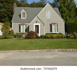 Suburban Bungalow home USA