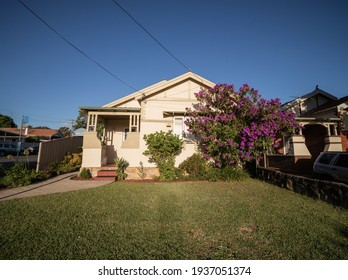 Suburban federation house in Sydney NSW Australia