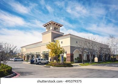 Suburban large store