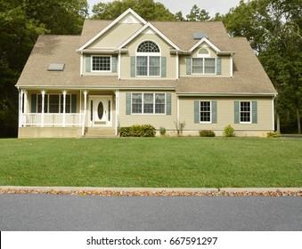 Suburban McMansion home USA