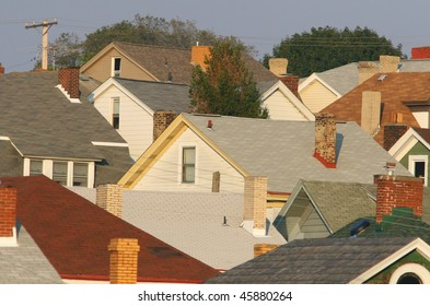 Suburban Pittsburgh neighborhood.