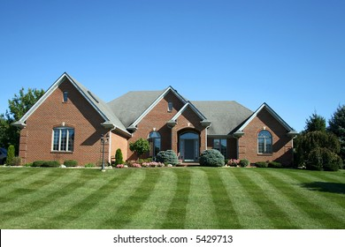 suburban two-story home