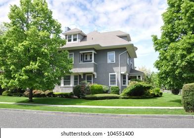 Suburban Victorian Home