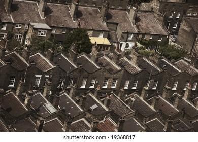 suburbia, London, England
