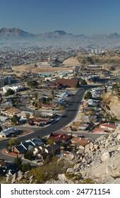 Suburbia vista, El Paso, Texas