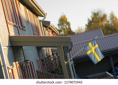 Suburbian residential in Sweden