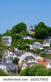 The suburg Blankenese in Hamburg/Germany