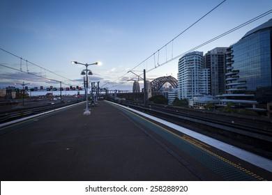 Subway station, Sydney