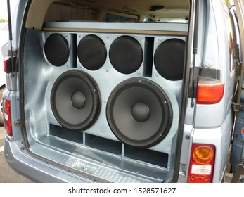 subwoofer muzik show car woofer