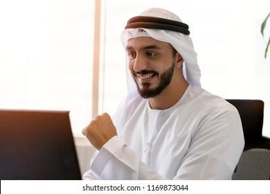 Succesful Emirati Men