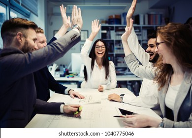 Succesful enterprenours and business people