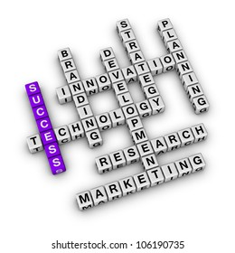 Success of Business (cubes crossword series)