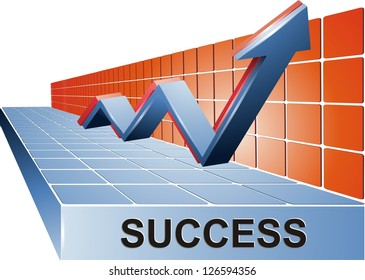 Success Business Stand