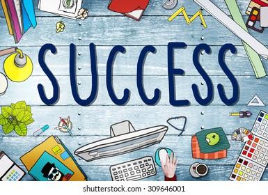 Success Competition Winning Mission Motivation Concept