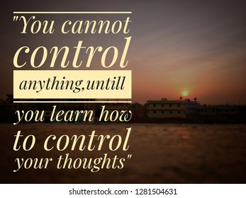 Life Control Quotes Images Stock Photos Vectors Shutterstock