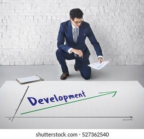 Success Growth Development Achievement Concept
