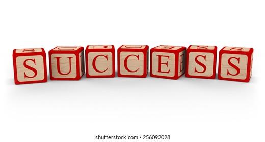 Success Letter Blocks