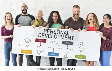 Success Progress Personal Development Skills