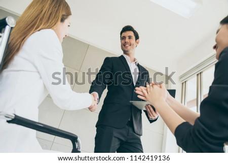 successful businessman speech