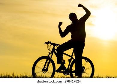 successful cyclist