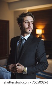 Successful man on a date