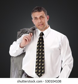 Successful man.businessman