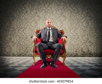 Successful royal businessman