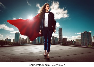 Successful Super Woman