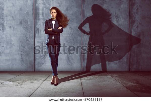 Succesvolle vrouw