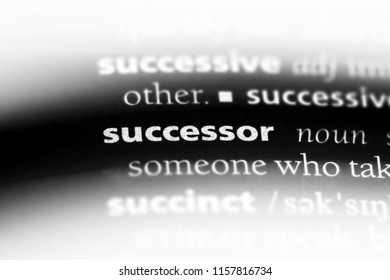 successor word in a dictionary. successor concept.