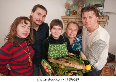 Such prepared fish will suffice on all family.