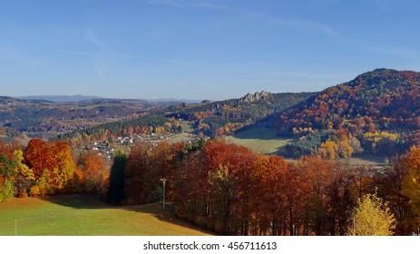 Suche skaly, Bohemian Paradise, Czech republic