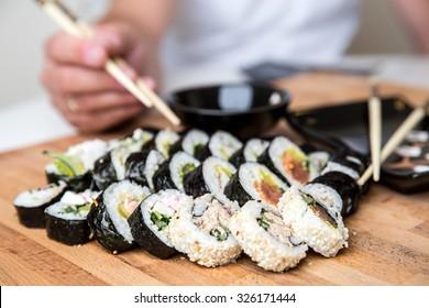 Suchi Japanese food