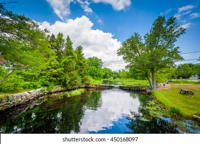 Sucker Brook, in Auburn, New Hampshire.