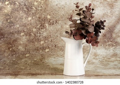 SUCULENT PLANT ISOLATED VASE ORNAMENT