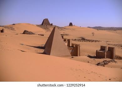 Sudan Bagrawya Pyramids