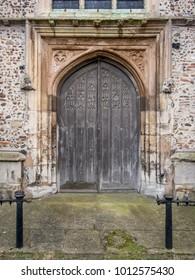 Sudbury Church Door