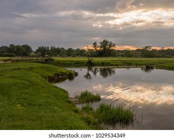 Sudbury Water Meadows at Dusk