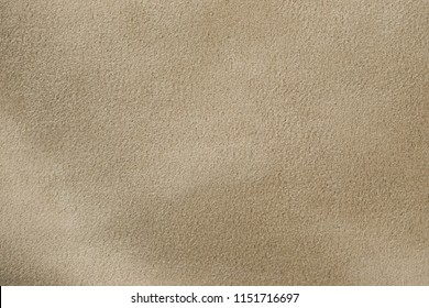Suede texture of sand color
